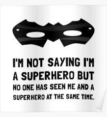 Me And Superhero Poster