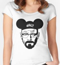 WALT MOUSE EARS Women's Fitted Scoop T-Shirt