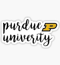 Purdue University Sticker