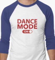 Dance Mode On Men's Baseball ¾ T-Shirt