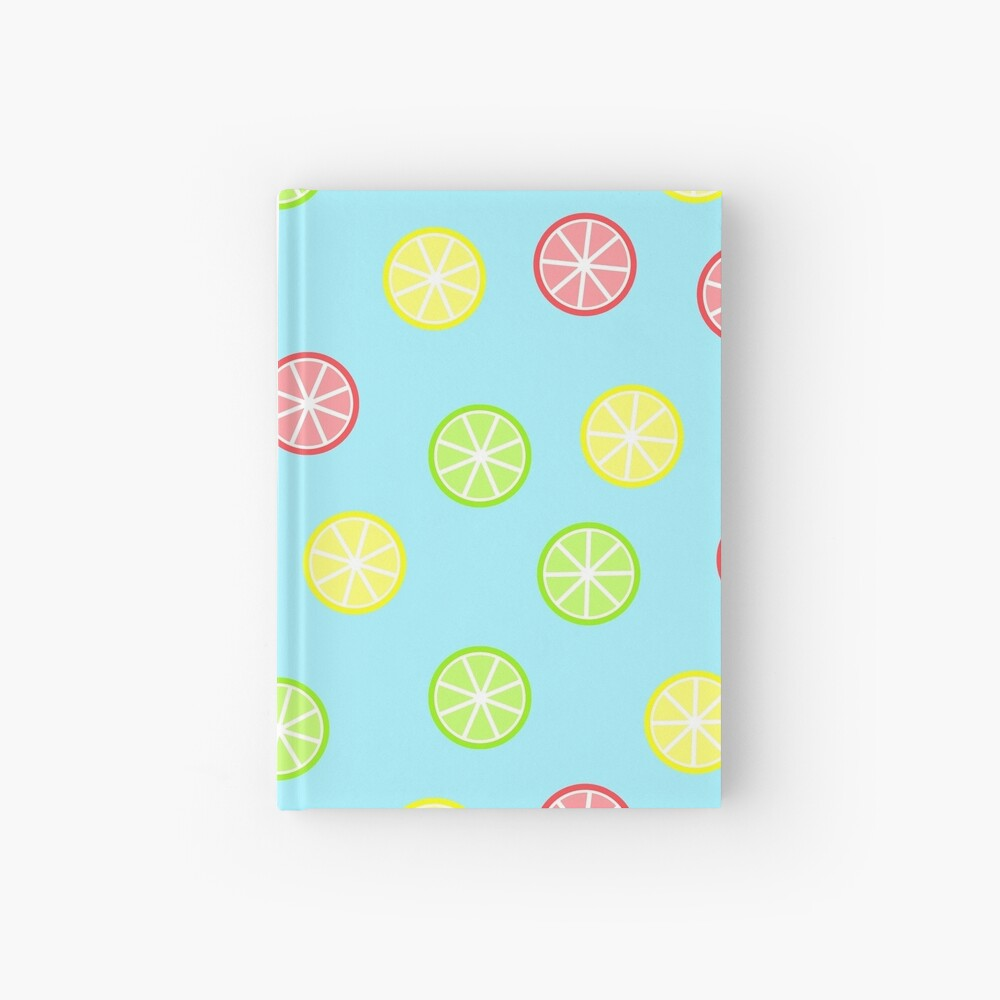 Citrus Fruits Hardcover Journal