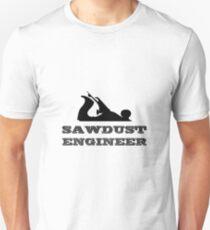 Sägemehl-Ingenieur Slim Fit T-Shirt