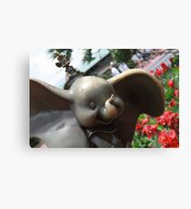 Dumbo and Timothy Mouse Canvas Print