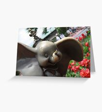 Dumbo and Timothy Mouse Greeting Card