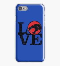 LOVE THUNDERCATS iPhone Case/Skin