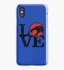 LOVE THUNDERCATS iPhone Case/Skin