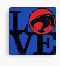 LOVE THUNDERCATS Canvas Print