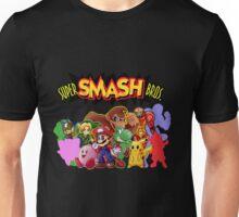 Super Smash Bros. 64 Secret Character Silhouettes  Unisex T-Shirt