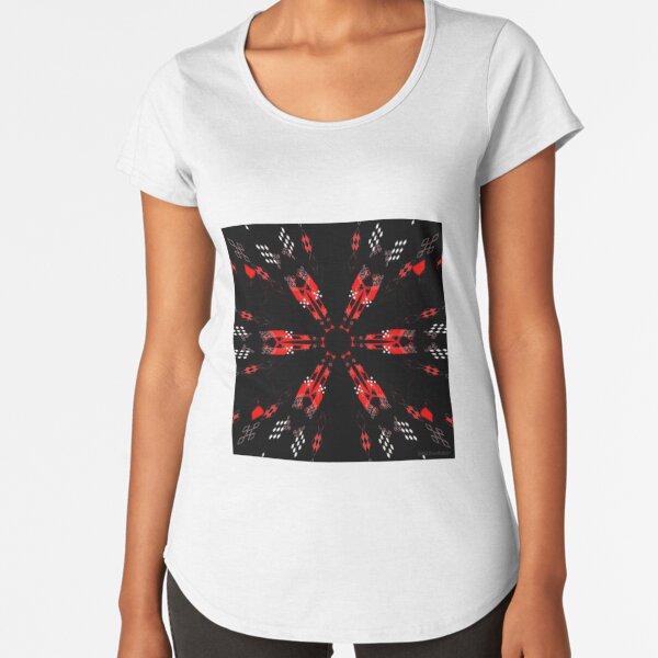 Amazing Sambalpuri Art Premium Scoop T-Shirt