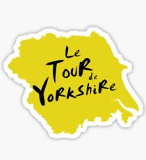 Le Tour de Yorkshire 2 Sticker
