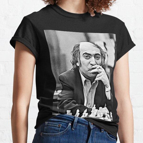 """Mikhail Tal """"The magician from Riga"""" Fanart Classic T-Shirt"""