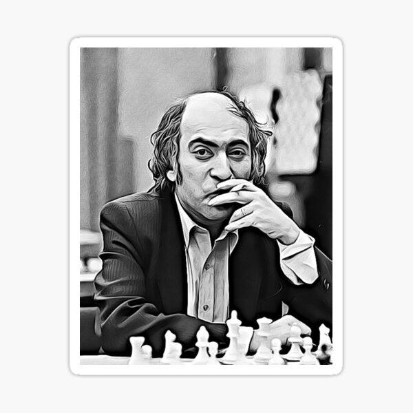 "Mikhail Tal ""The magician from Riga"" Fanart Sticker"