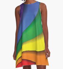 Pride Rainbow A-Line Dress
