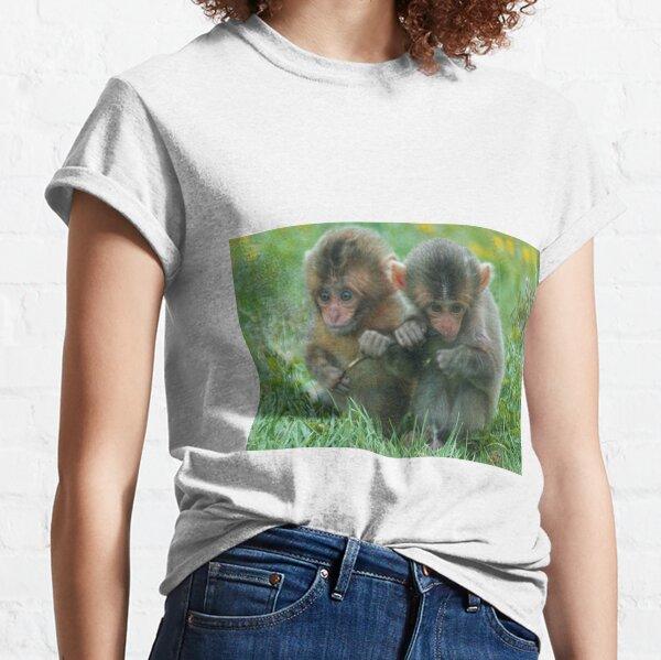 Baby Snow Monkeys Classic T-Shirt