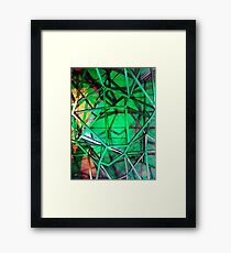 Fed Square Abstract 4 Framed Print