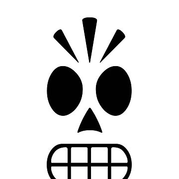 Manny Calavera for iPhone by pixelskaya