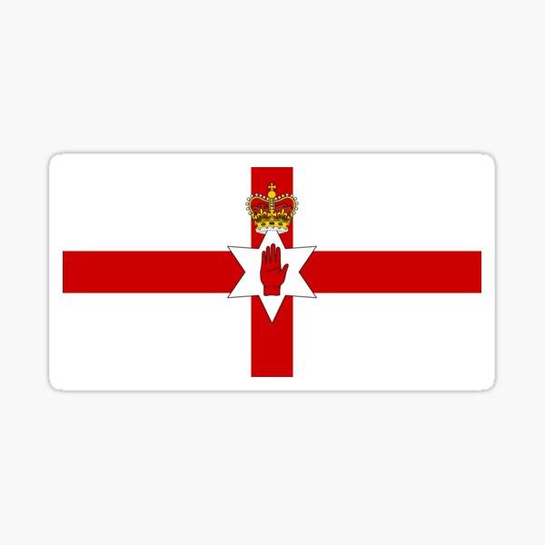 Ulster Banner Flag of Northern Ireland, 1953-1972 Sticker
