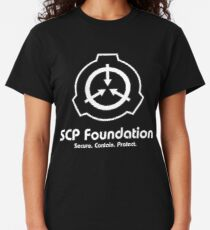 SCP Foundation (in White) Classic T-Shirt