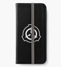 SCP Foundation (in White) iPhone Wallet/Case/Skin