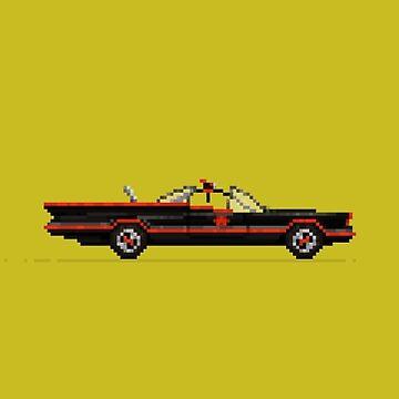 BatCar by pixelfaces