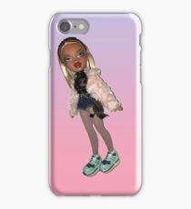 BRATZ DOLL CLOE PUNK GIRL CYBER GIRL  iPhone Case/Skin