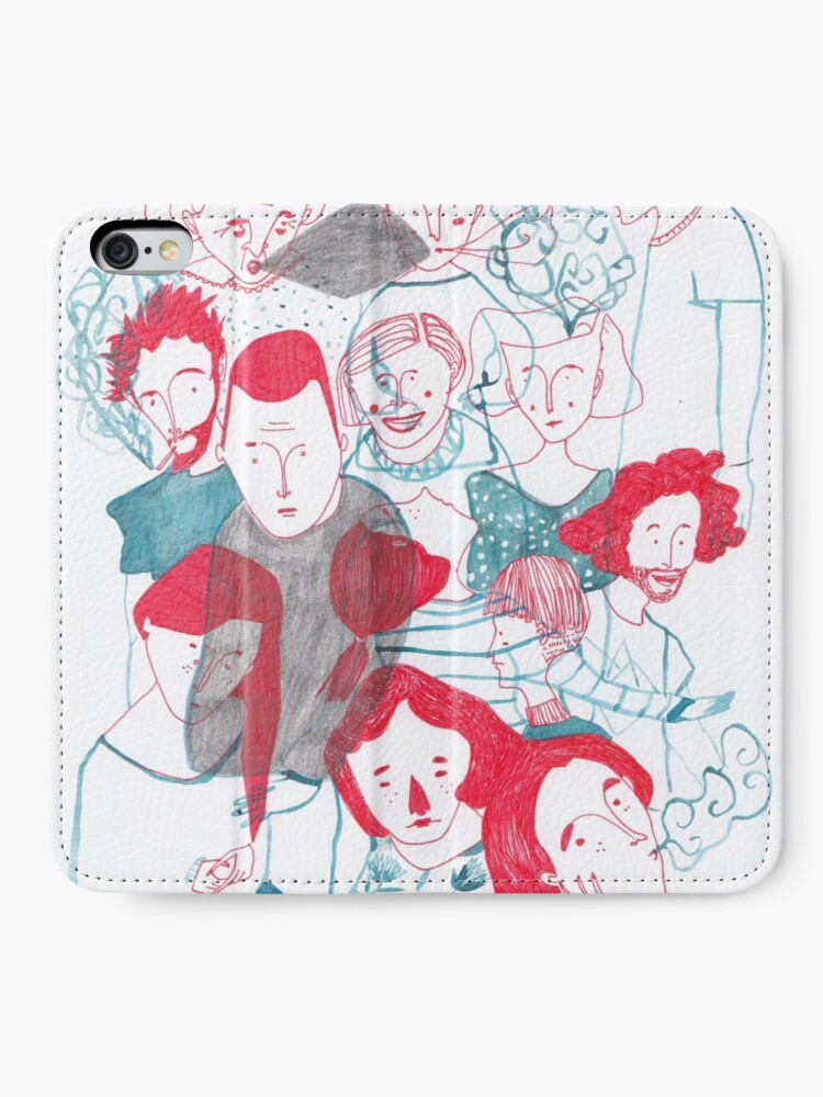 Alternate view of people are people iPhone Wallet