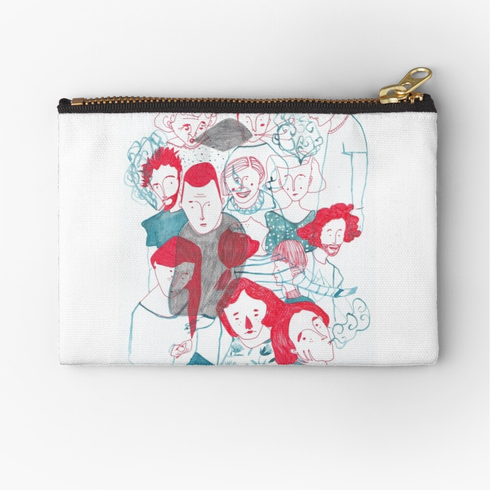 people are people Zipper Pouch