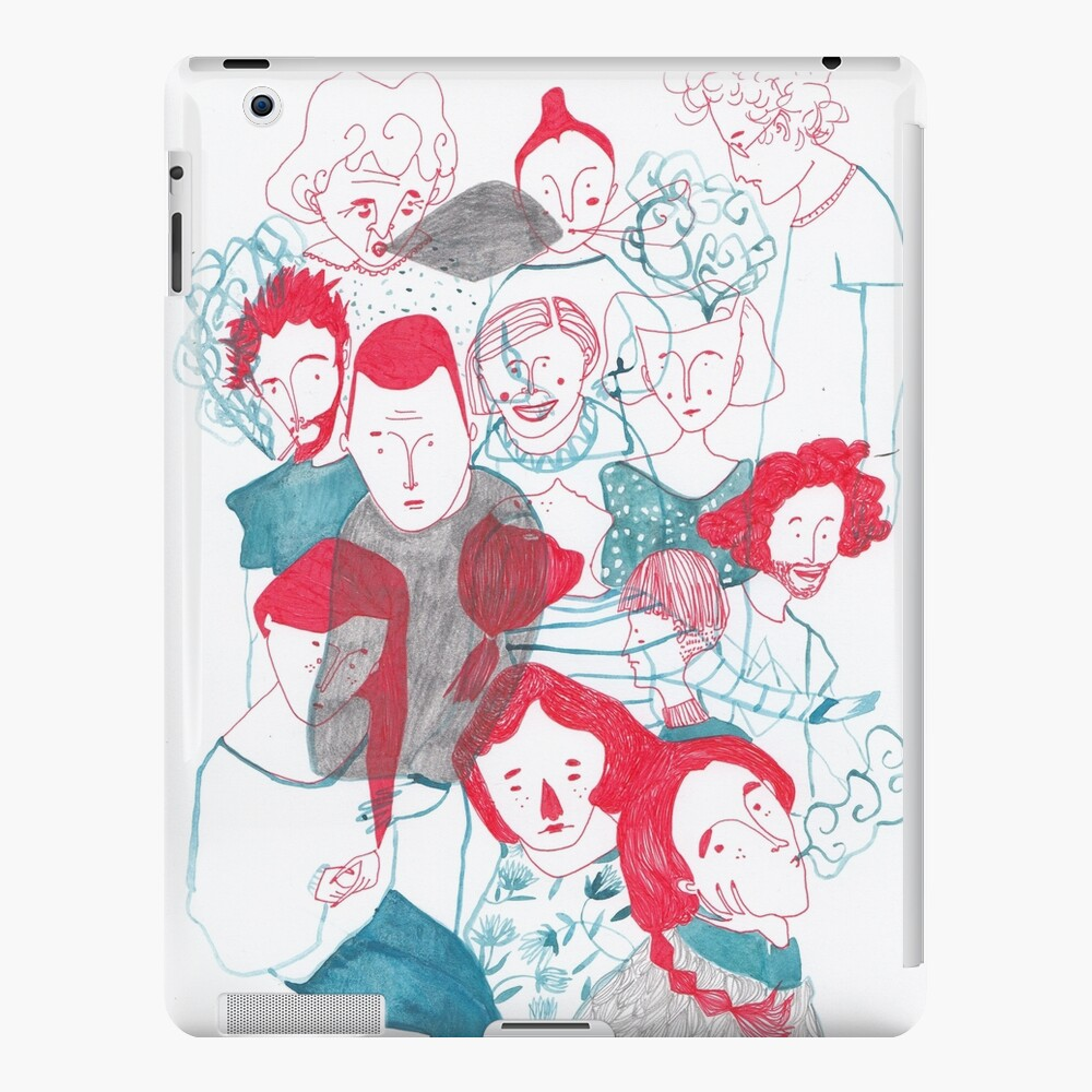 people are people iPad Case & Skin