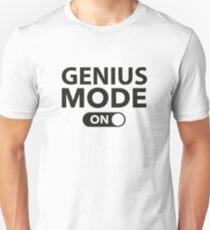 Genius Mode On Unisex T-Shirt