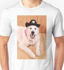Sherrif Paw Unisex T-Shirt