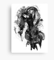 Chandra Nalaar in Black Canvas Print
