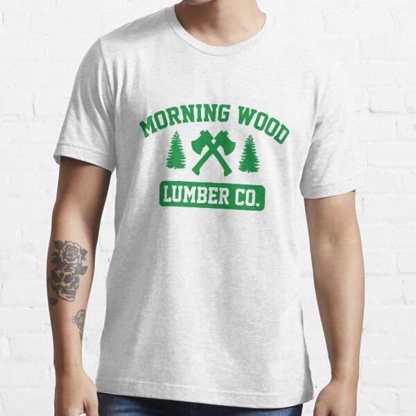 Mañana Wood Lumber Co. Camiseta esencial