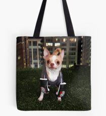 Boxing Dog Tote Bag