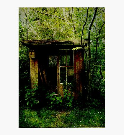 Abandoned Hideaway Photographic Print