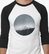 Mt. Hood Oregon Men's Baseball ¾ T-Shirt