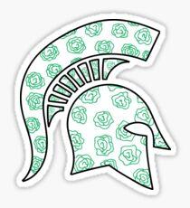 Green Roses Sticker