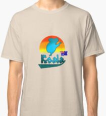 Koala Sunset Classic T-Shirt