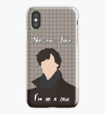 I'm on a case iPhone Case
