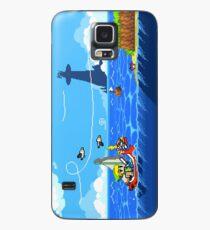 Zelda - Wind Waker Fortgeschritten Hülle & Klebefolie für Samsung Galaxy