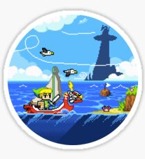 Zelda - Wind Waker Advanced Sticker