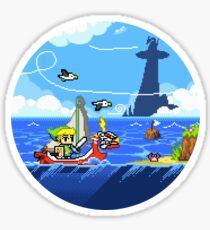Zelda - Wind Waker Fortgeschritten Sticker