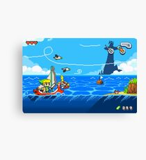 Zelda - Wind Waker Advanced Canvas Print