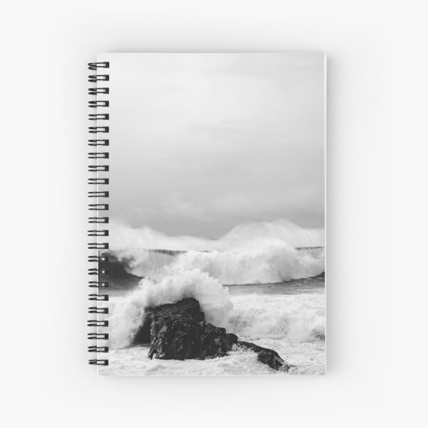 """Carefree"" Spiral Notebook"