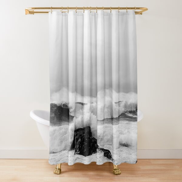 """""""Carefree"""" Shower Curtain"""