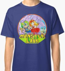 Wonder Boy - Turbografx/PC-Engine Box Art Classic T-Shirt