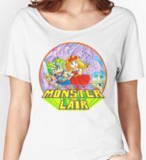 Wonder Boy - Turbografx/PC-Engine Box Art Women's Relaxed Fit T-Shirt