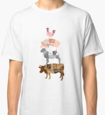 Butcher Diagrams - Labeled - Totem Classic T-Shirt