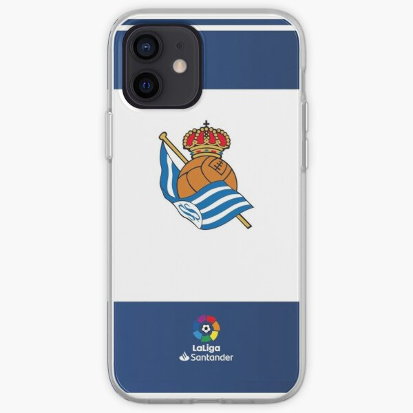 Real Sociedad Funda blanda para iPhone