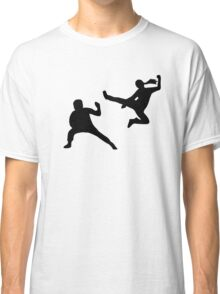 Kung fu fighter Classic T-Shirt