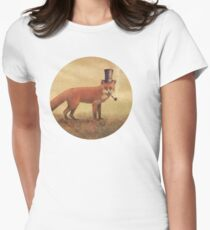 Crazy Like a Fox Women's Fitted T-Shirt